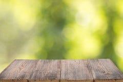 Fundo de madeira para produtos Fotografia de Stock Royalty Free
