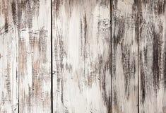 Fundo de madeira pintado Imagens de Stock Royalty Free