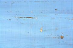 Fundo de madeira pintado gasto da textura Foto de Stock