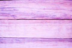 Fundo de madeira pintado rosa da textura foto de stock royalty free