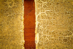 Fundo de madeira pintado velho da textura Imagem de Stock Royalty Free