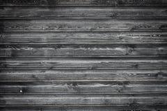 Fundo de madeira preto fotos de stock royalty free