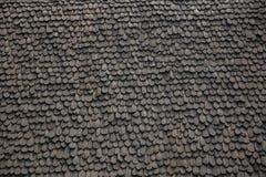Fundo de madeira preto Imagens de Stock