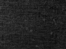 Fundo de madeira preto da textura fotografia de stock