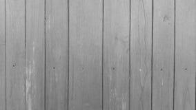 Fundo de madeira preto e branco Foto de Stock Royalty Free