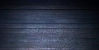 Fundo de madeira preto rústico Imagem de Stock Royalty Free