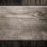 Fundo de madeira preto velho Imagens de Stock Royalty Free