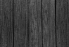 Fundo de madeira preto velho da textura do Grunge Fotos de Stock