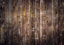 Fundo de madeira rústico das pranchas com vignetting agradável foto de stock royalty free