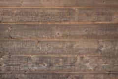 Fundo de madeira rústico velho, textura de madeira marrom Fotos de Stock Royalty Free