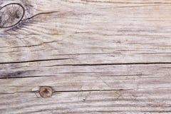 Fundo de madeira realístico Tons naturais, estilo do grunge Textura de madeira, fim de Grey Plank Striped Timber Desk acima vinta Imagem de Stock Royalty Free