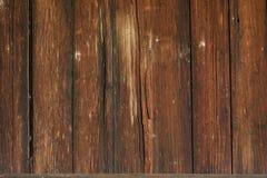 Fundo de madeira resistido da parede Fotos de Stock