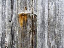 Fundo de madeira resistido do nó Foto de Stock Royalty Free