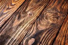 Fundo de madeira resistido rústico Imagem de Stock