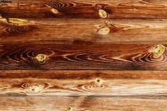 Fundo de madeira resistido velho da queimadura de madeira da textura Imagens de Stock Royalty Free