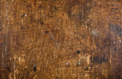 Fundo de madeira riscado velho de Grunge Fotografia de Stock Royalty Free