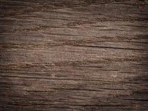 Fundo de madeira riscado velho do vintage Fotos de Stock
