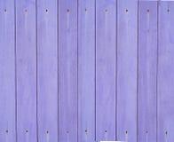 Fundo de madeira roxo Fotos de Stock