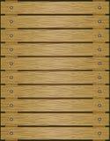 Fundo de madeira Textura de madeira marrom velha das pranchas do assoalho Foto de Stock Royalty Free