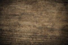 Fundo de madeira textured escuro do grunge velho, a superfície do ol imagens de stock