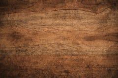 Fundo de madeira textured escuro do grunge velho, a superfície do ol foto de stock