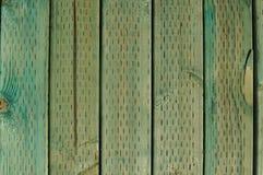 Fundo de madeira tratado verde imagens de stock royalty free