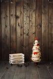 Fundo de madeira velho Fotografia de Stock Royalty Free