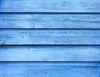 Fundo de madeira velho azul Imagem de Stock