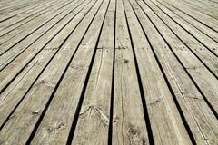 Fundo de madeira velho da doca Fotos de Stock Royalty Free