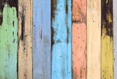 Fundo de madeira velho da parede Imagens de Stock