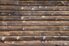Fundo de madeira velho da parede Fotografia de Stock Royalty Free
