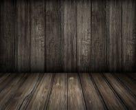 Fundo de madeira velho da sala Imagens de Stock