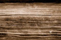 Fundo de madeira velho de Brown Foto de Stock Royalty Free