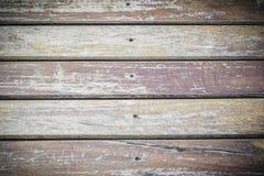 Fundo de madeira velho do assoalho Imagens de Stock Royalty Free