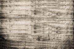 Fundo de madeira velho do grunge da textura na cor do sepia fotos de stock royalty free