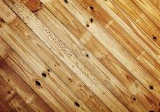 Fundo de madeira velho do teste padrão Foto de Stock