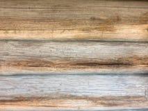 Fundo de madeira velho dos logs Imagem de Stock