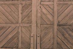 Fundo de madeira velho escuro Foto de Stock