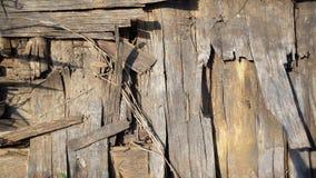 Fundo de madeira velho Textura de madeira Imagem de Stock