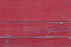Fundo de madeira vermelho Imagem de Stock Royalty Free