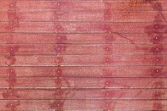 Fundo de madeira vermelho imagens de stock