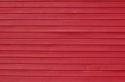 Fundo de madeira vermelho Fotos de Stock