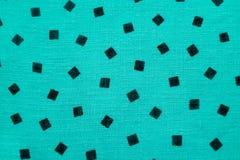 Fundo de matéria têxtil da lona de turquesa Fotografia de Stock Royalty Free