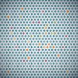 Fundo de matéria têxtil do círculo ilustração stock