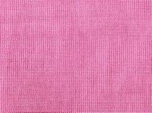 Fundo de matéria têxtil natural roxa textured fotos de stock