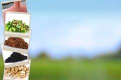 Fundo de mineral e de adubo da agricultura Imagens de Stock