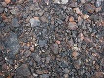 Fundo de muitas pedras Fotos de Stock