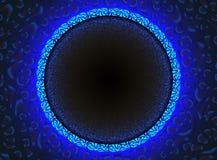 Fundo de néon do círculo Imagem de Stock