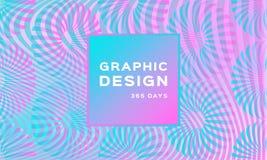 Fundo de néon holográfico luxuoso Contexto macio iridescente Fundo pearlescent na moda Forma futurista geométrica ilustração stock