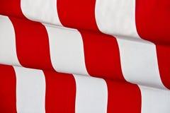 Fundo de ondulação listrado vermelho Fotos de Stock